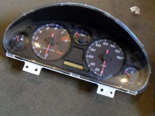 Instrument cluster panel, Mazda MX-5 mk2, Roadster RS, 6sp, N053, USED